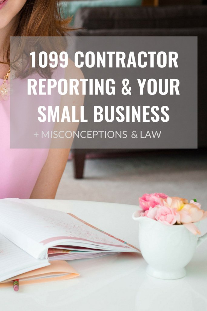 Erin Armstrong - Business Coach - Virtual CFO - 1099 Contractor Reporting & Your Small Business - Misconceptions & Law