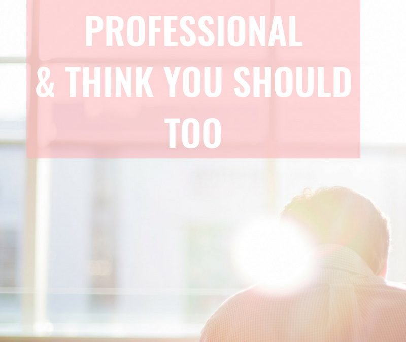 Why I Recommend My Clients to Hire a Licensed Tax Professional!