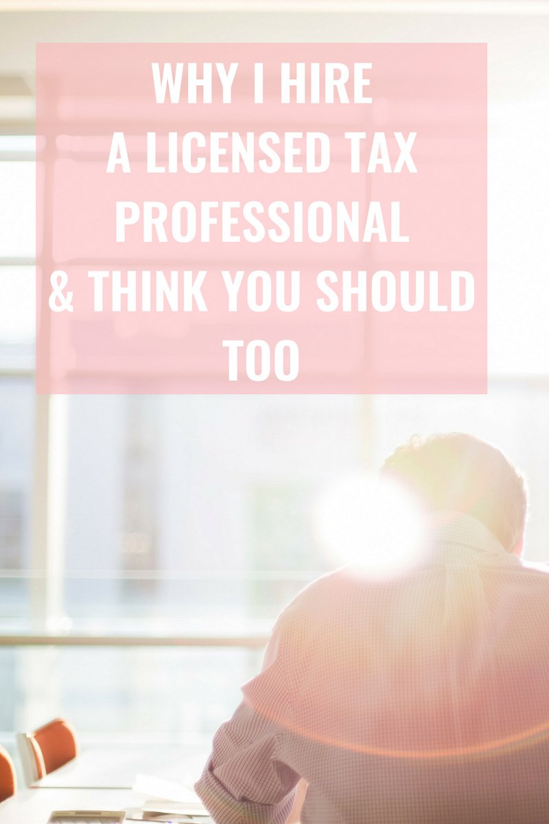 Erin Armstrong - Business Coach - Virtual CFO - Blog - Why I Hire a Licensed Tax Professional & Think You Should Too
