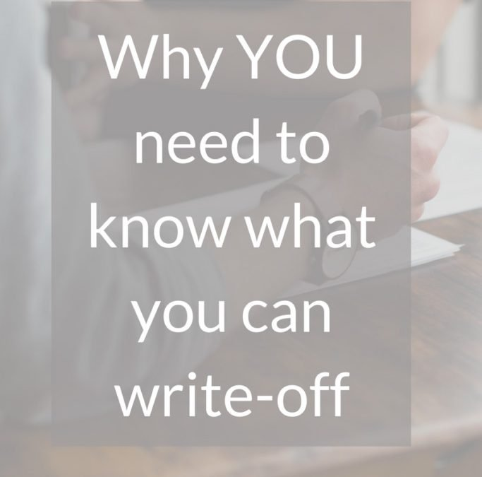 Why You Personally Need to Know What You Can Write-Off for Your Business