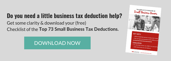 Erin Armstrong - Business Coach - Virtual CFO - Optin - Small Business Tax Deductions